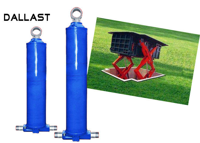 Single Piston Fork Lifting Dump Hoist Garbage Truck Hydraulic Cylinders